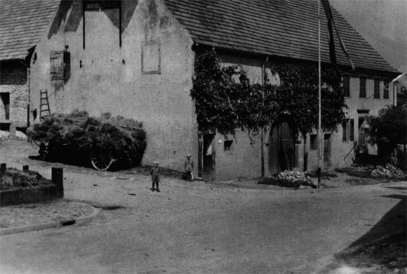 Der Hof ca. 1954